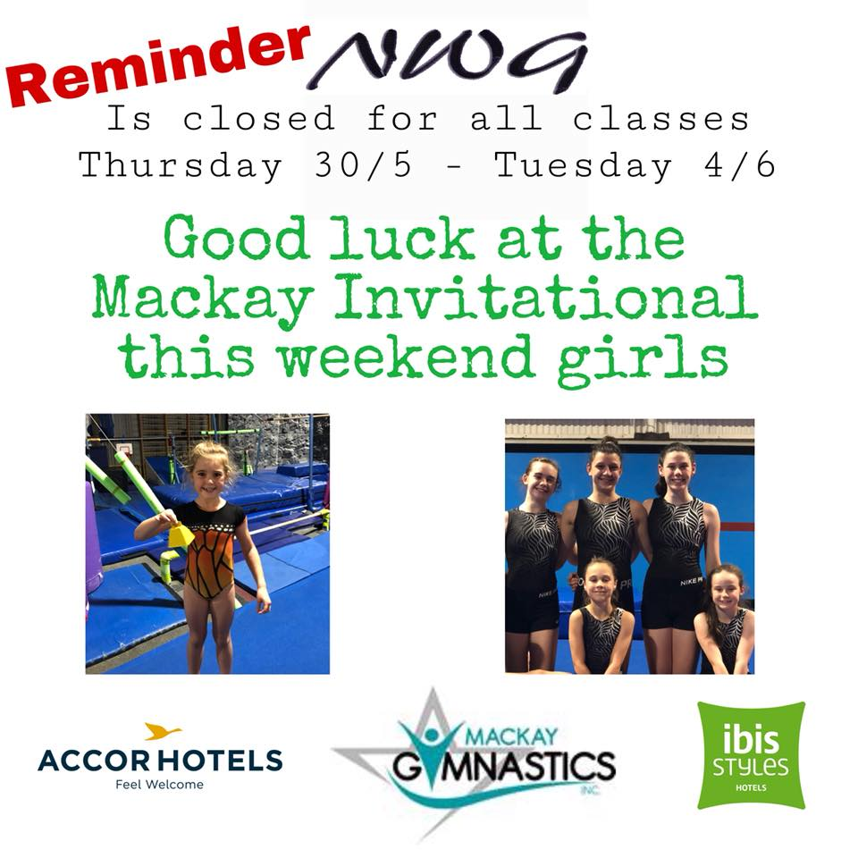 2019 Mackay Gymnastics Competition - Gook Luck Girls