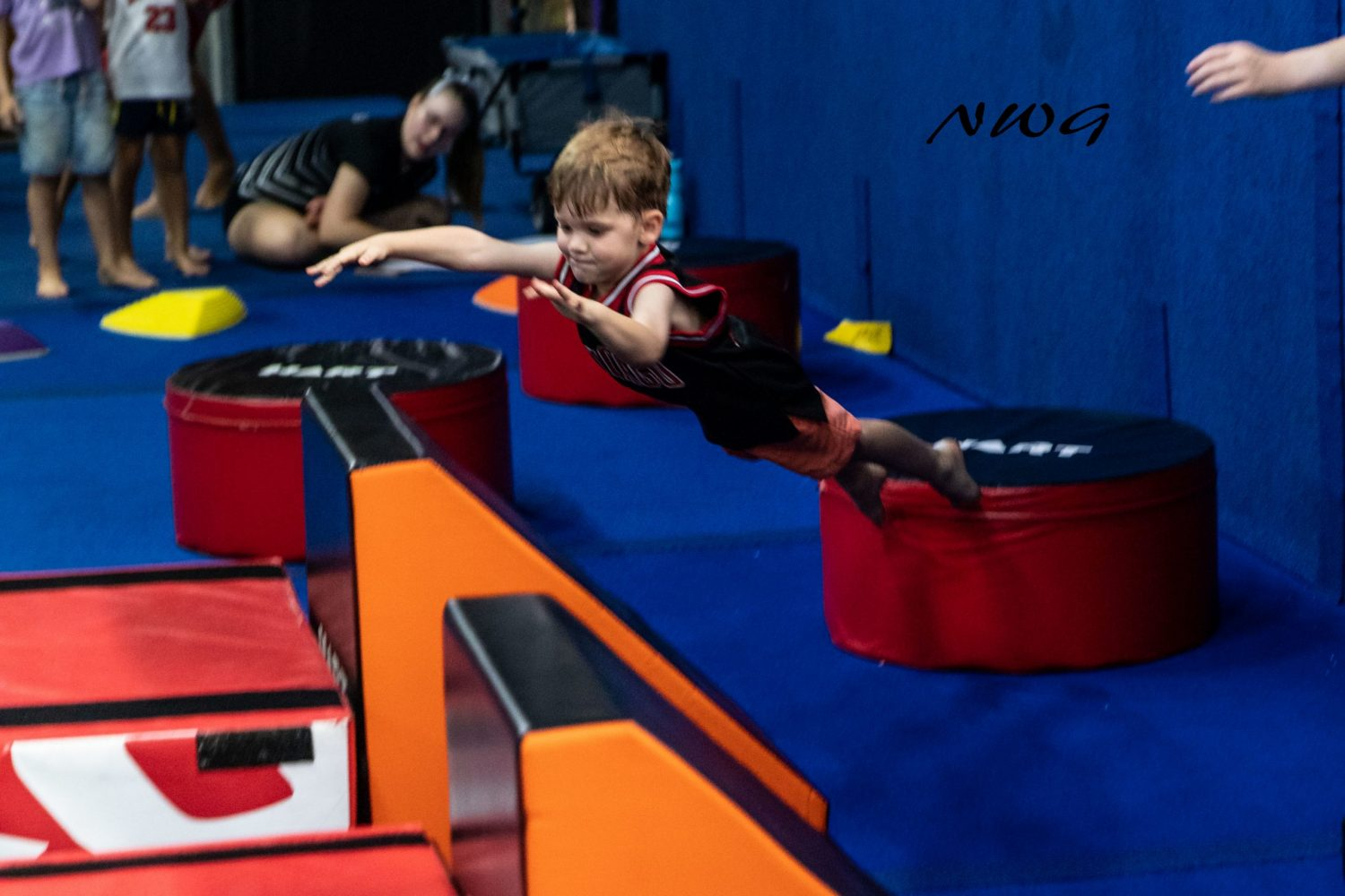 Lil' Ninja North West Gymnastics Mount Isa nwgmountisa
