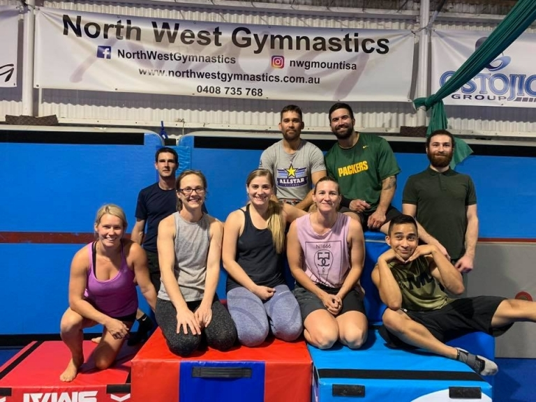 Mount Isa Gymnastics Mount Isa Cross Fit NWG North West Gymnastics #crossfit #nwgmountisa #northwestgymnastics #mountisa