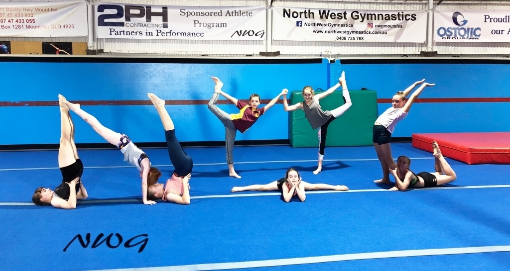 Mount Isa Gymnastics North West Gymnastics NWG Acro Tumbling Fun Fitness Friendship Fundamentals