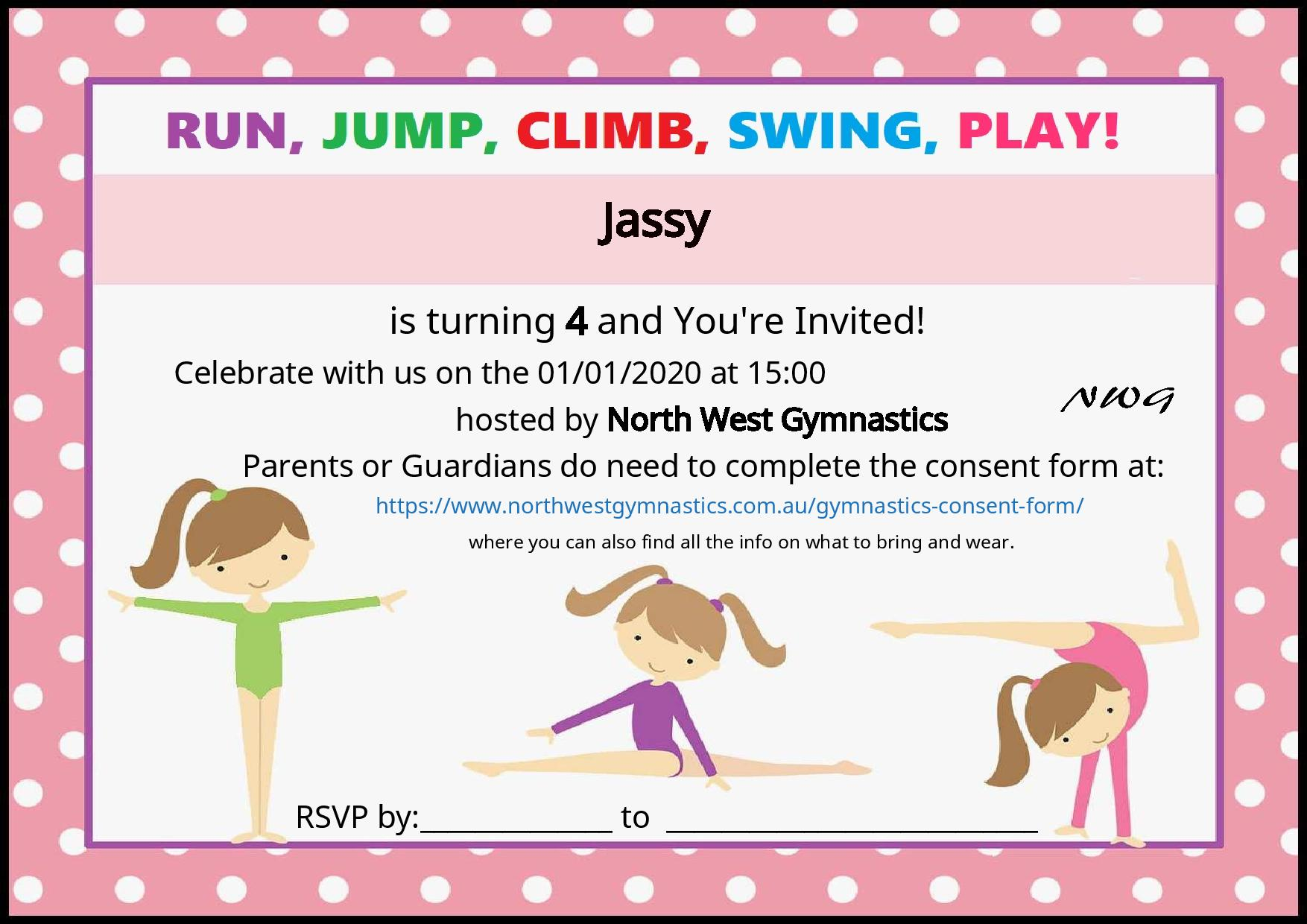 NWG Invitation Example