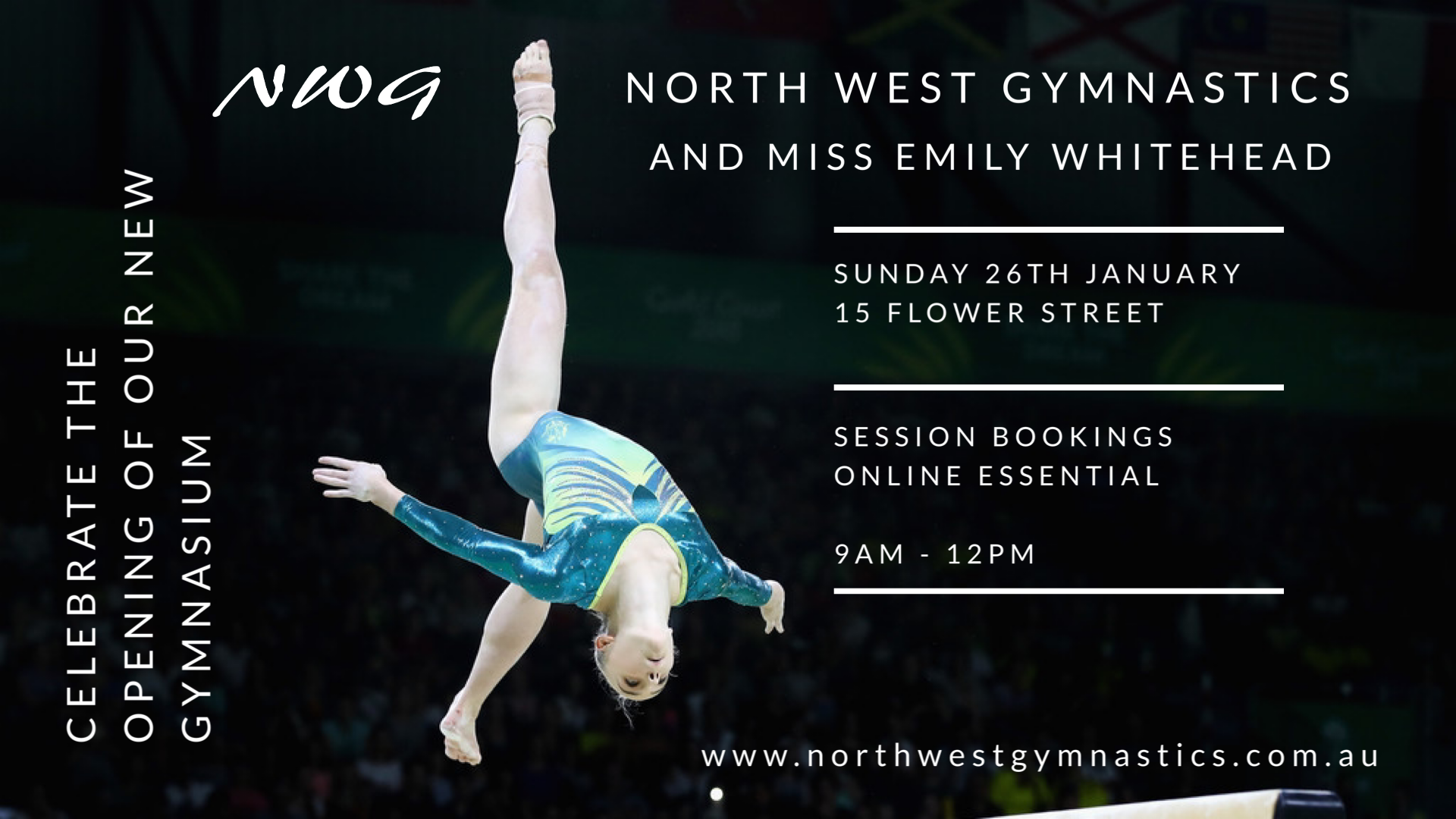 NWG North West Gymnastics Emily Whitehead Gymnasium Opening Event