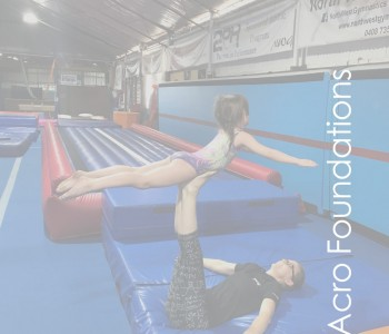 NWG North West Gymnastics Mount Isa Acro Foundations Acrobatics