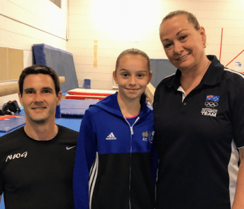 NWG North West Gymnastics Mount Isa Advanced Silver Coach Richard