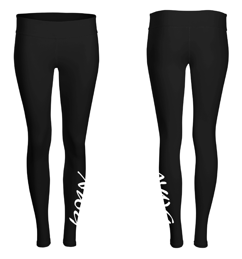 NWG North West Gymnastics Mount Isa Competition Tights Leggings Winter