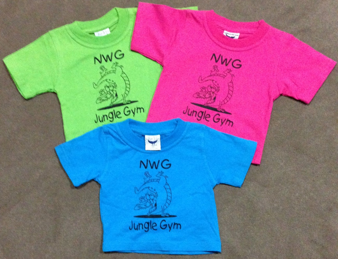 North West Gymnastics Jungle Gym T-Shirt Front