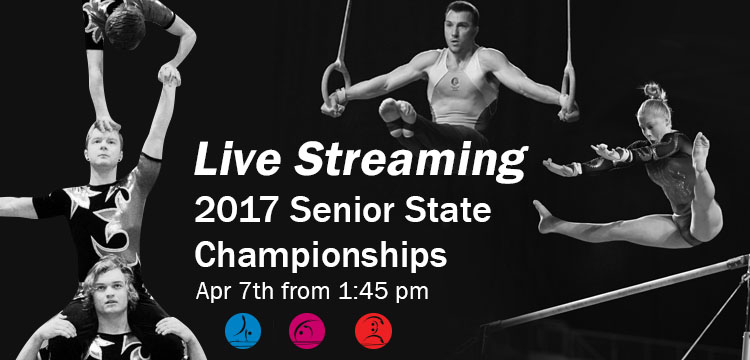 Gymnastics Queensland Live Streaming Senior State Championships