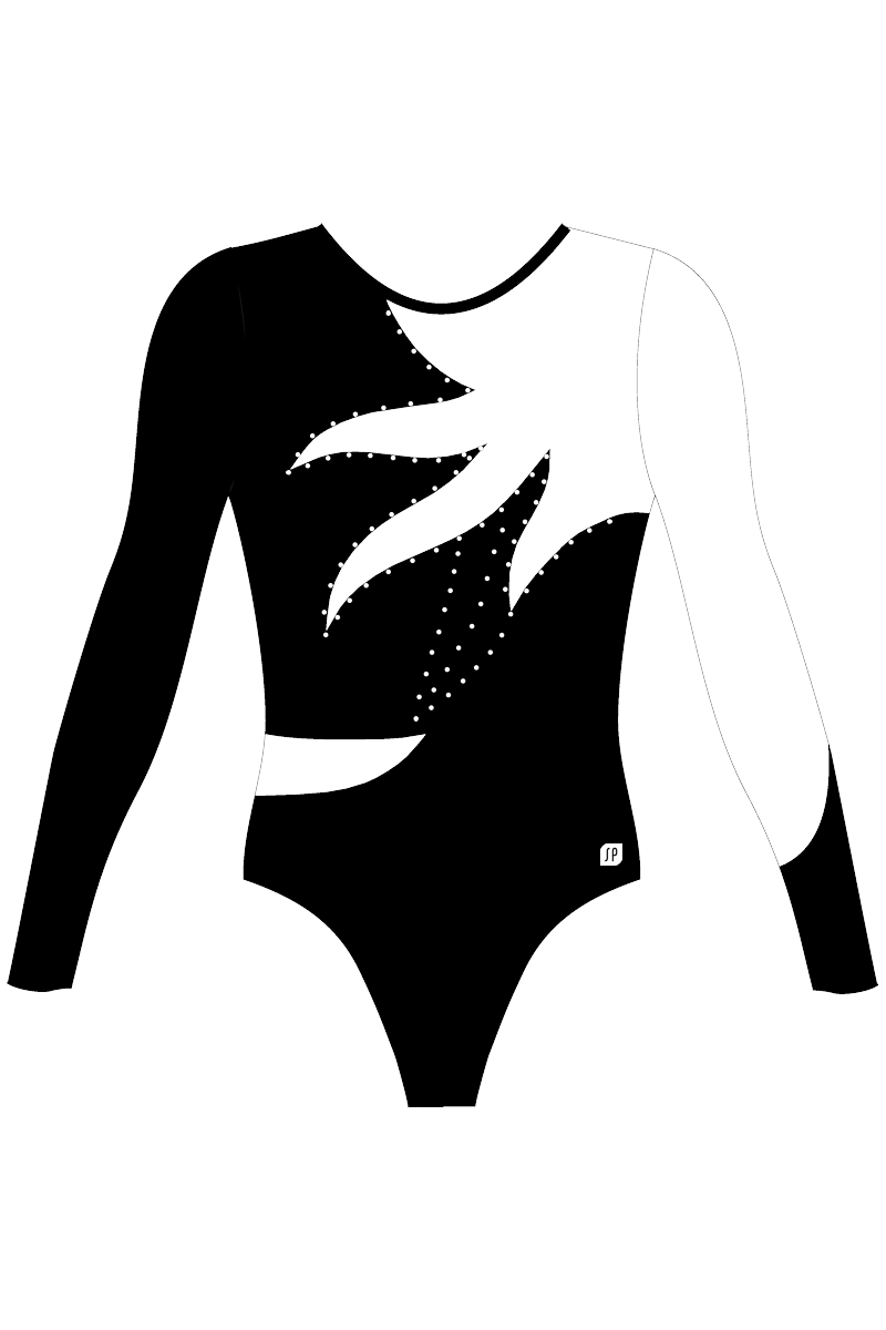 WAG Level 4-6 Competition Leotard NWG